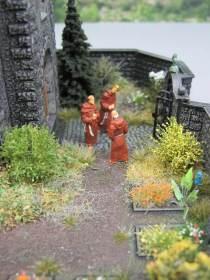 Klostergarten Diorama