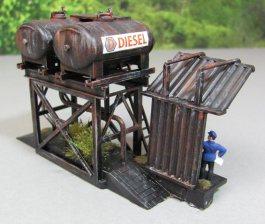 Dieseltankstelle