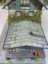 wunderwirtschaft H0 Diorama 1:87 Modellbau HO Fertigmodell Gebäude gealtert