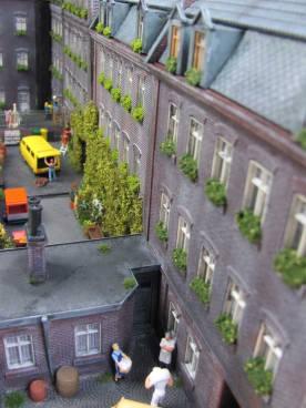Stadthäuser Hinterhöfe