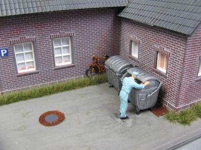 Mülltonnen H0