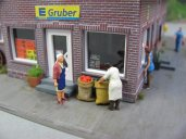 Edeka-Markt Diorama