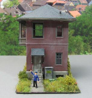 Stellwerk Mini-Diorama