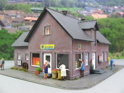 Edeka Markt Diorama