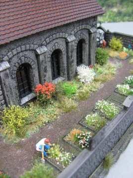 Friedhof 1:87