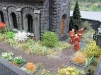 Pola Kirche Diorama